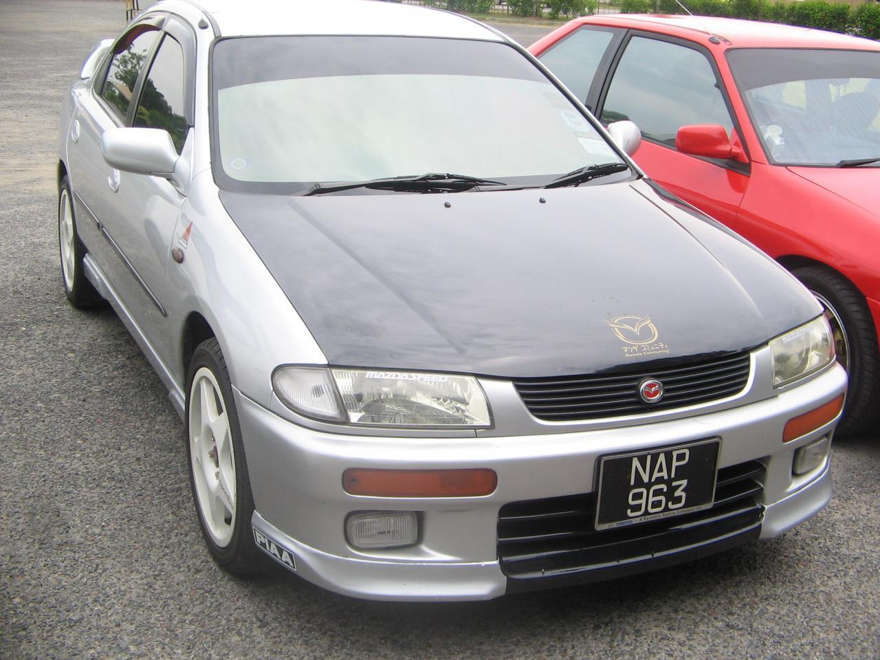Mazda 323 / Familia / Protegé IV BA / BH
