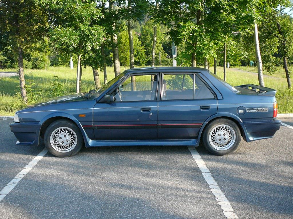 1987 mazda 626 gc, generation #2 2.0 (121 cui) gasoline 88 kw