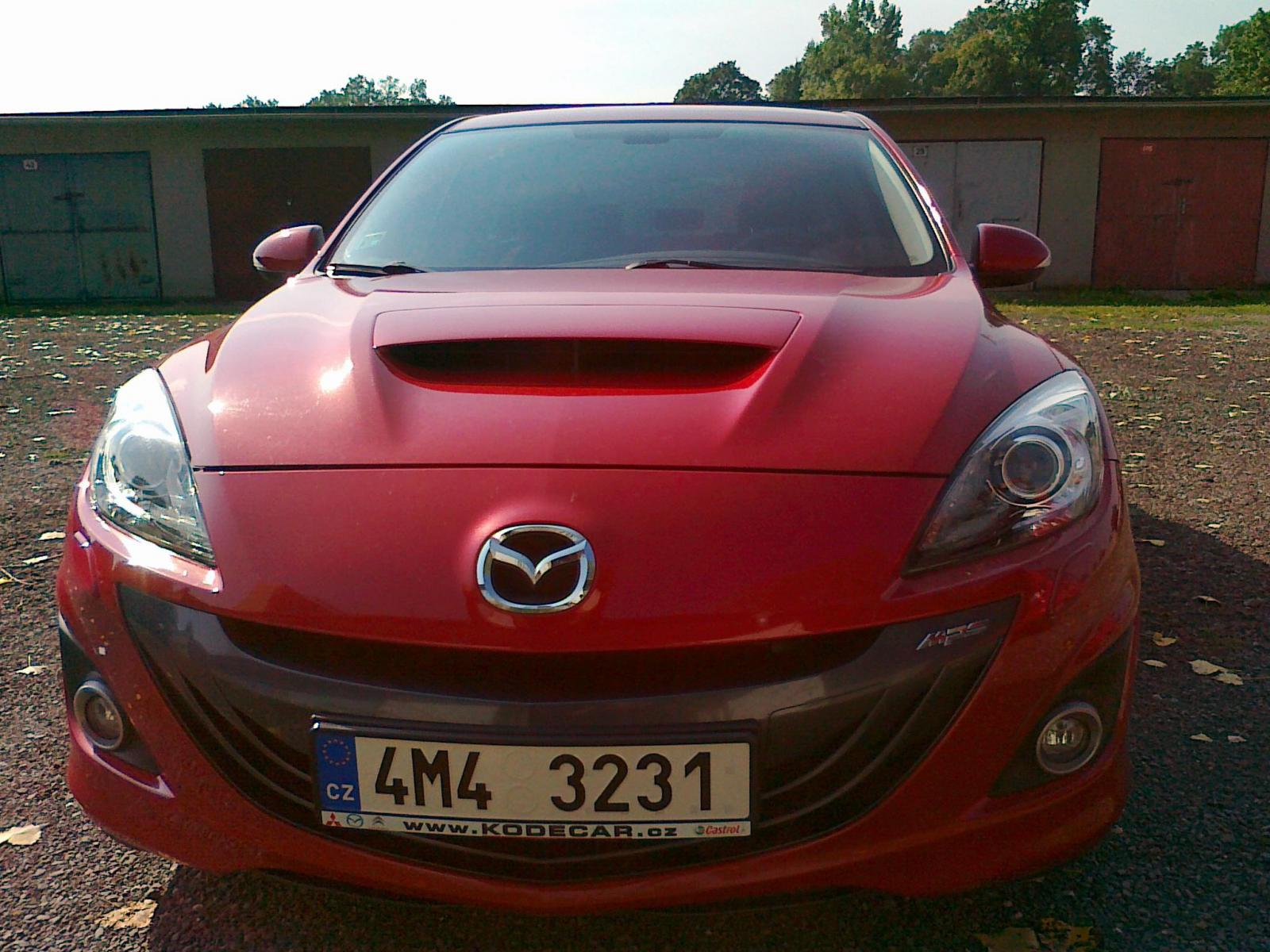 mazda 3 mps owners manual